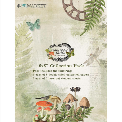 49 and Market Vintage Artistry 6x8 Collection Pack: Hike More