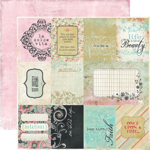 Fancy Pants Road Show 12x12 Paper: Cards