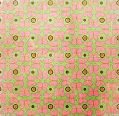 Pink Paislee Enchanting 12x12 Paper: Delightful (single-sided)