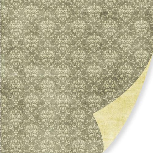 Pink Paislee Queen Bee 12x12 Paper: Bees Wax