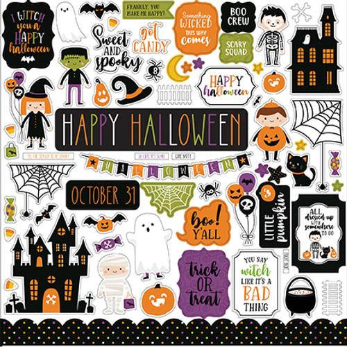 Echo Park Halloween Magic Element Sticker