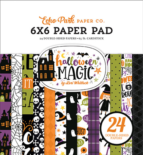 Echo Park Halloween Magic 6x6 Paper Pad