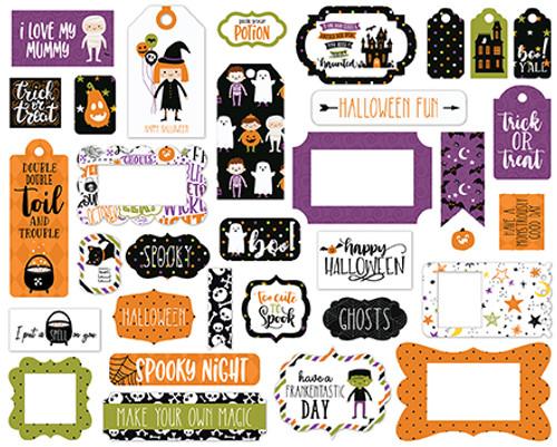Echo Park Halloween Magic Frames & Tags
