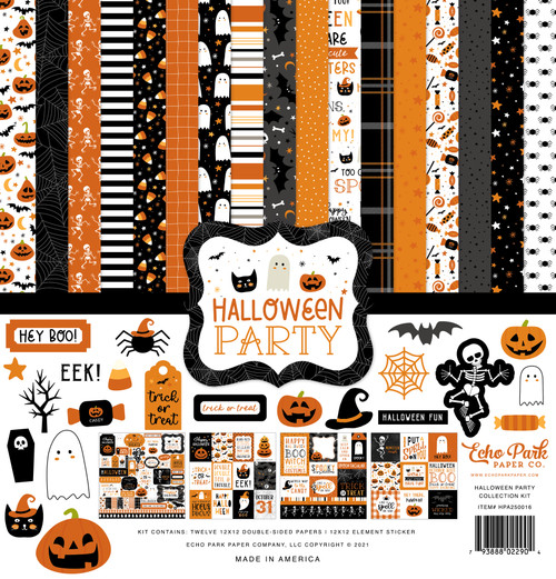 Echo Park Halloween Party Collection Kit