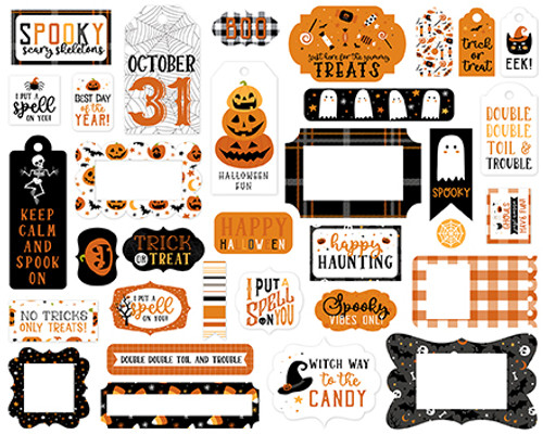 Echo Park Halloween Party Frames & Tags