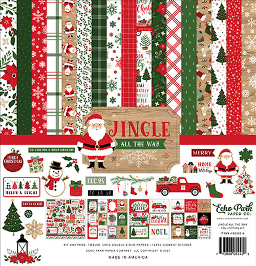 Echo Park Jingle All The Way Collection Kit