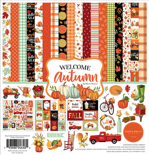 Carta Bella Welcome Autumn Collection Kit