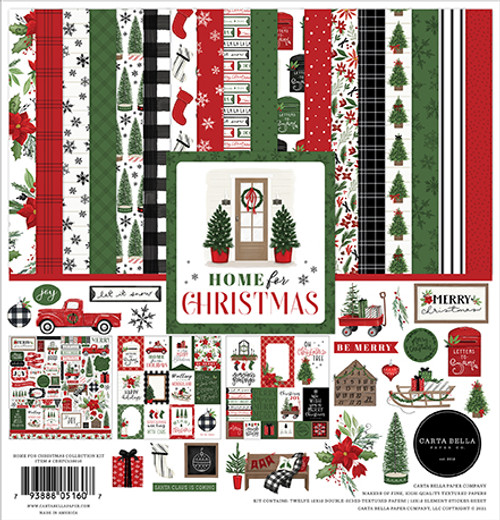 Carta Bella Home For Christmas Collection Kit