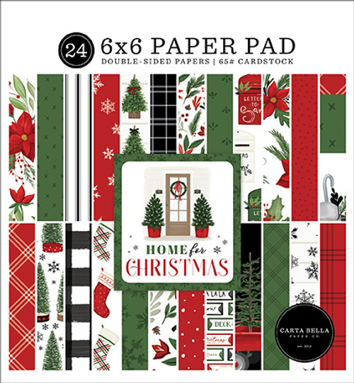 Carta Bella Home For Christmas 6x6 Paper Pad