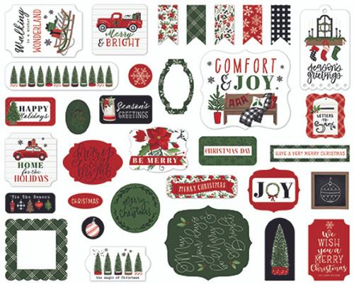 Carta Bella Home For Christmas Ephemera