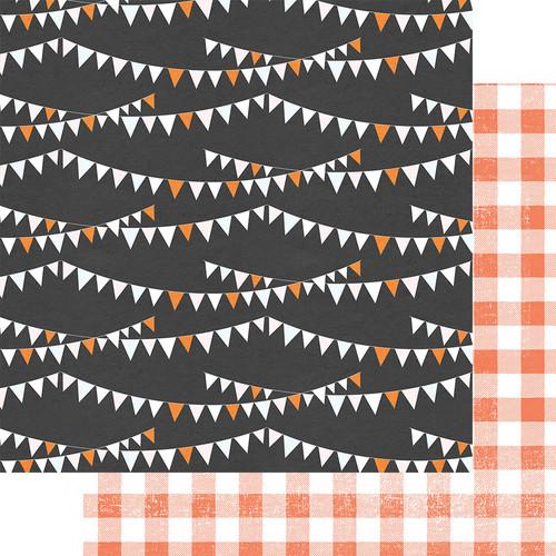 Fancy Pants A Little Scary 12x12 Paper: Halloween Skies