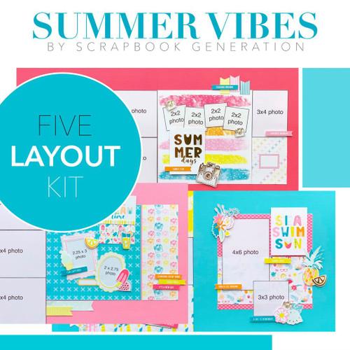 SG: Summer Vibes - 5 Layout Kit