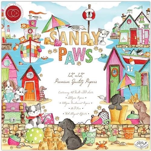 Craft Consortium 12x12 Premium Paper Pad: Sandy Paws
