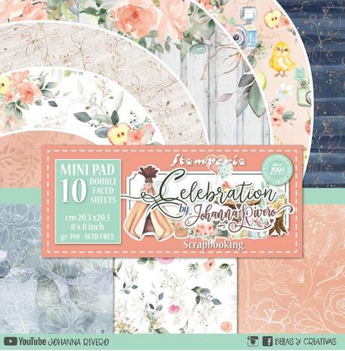 Stamperia 8x8 Paper Pack: Celebration
