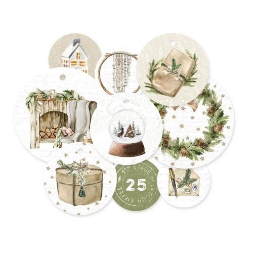 P13 Cosy Winter Decorative Tags: Set 1