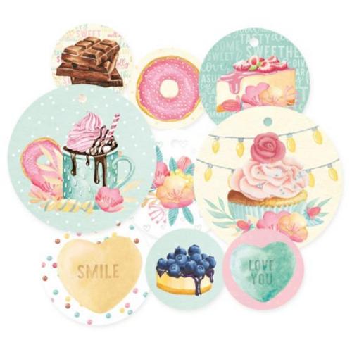 P13 Sugar & Spice Decorative Tags: Set 1