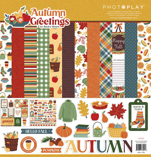 PhotoPlay Autumn Greetings Collection Pack