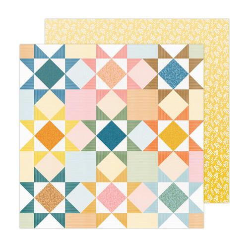 AC Paige Evans Bungalow Lane 12x12 Paper: Paper 8