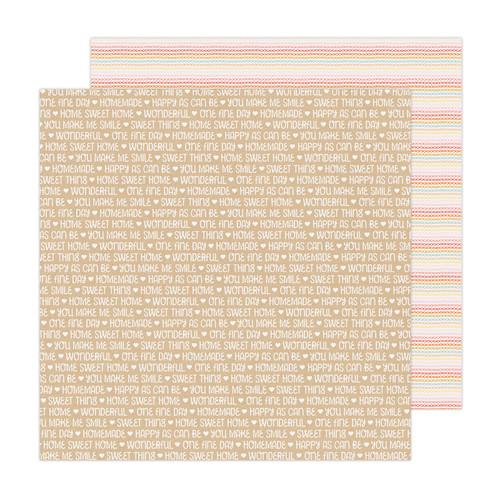 AC Paige Evans Bungalow Lane 12x12 Paper: Paper 21