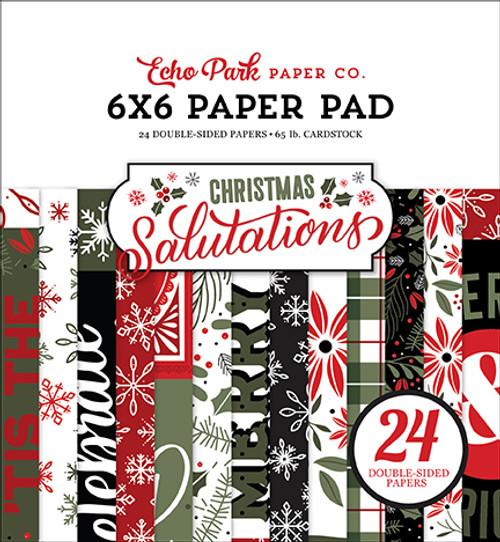 Echo Park Christmas Salutations 6x6 Paper Pad