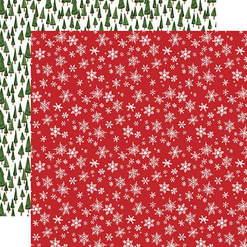Carta Bella Happy Christmas 12x12 Paper: Winter Wonderland