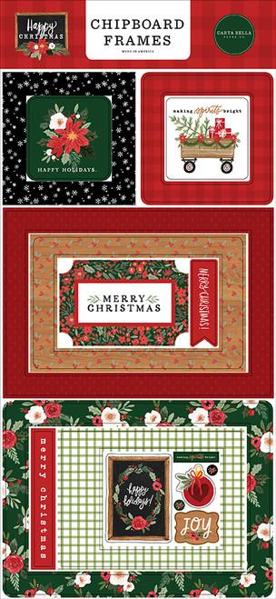 Carta Bella Happy Christmas 6x13 Chipboard Frames