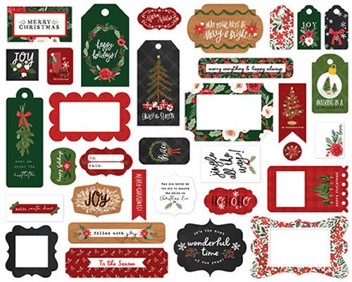 Carta Bella Happy Christmas Frames & Tags