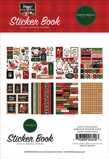 Carta Bella Happy Christmas Sticker Book