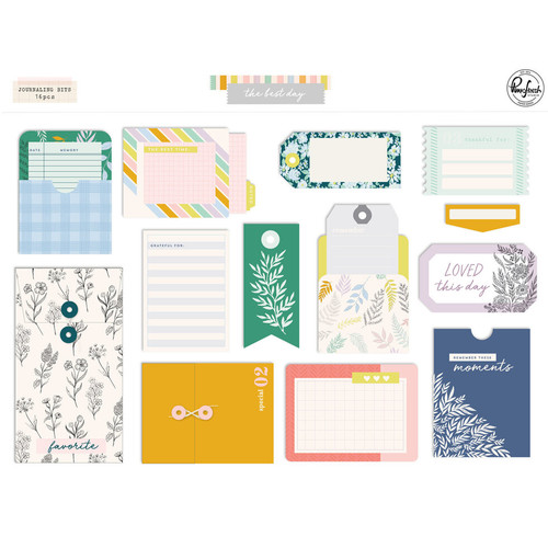 Pinkfresh Studio The Best Days: Journaling Bits
