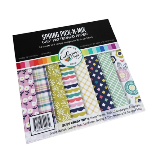 Catherine Pooler Designs 6x6 Paper Pad: Spring Pick-N-Mix