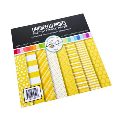 Catherine Pooler Designs 6x6 Paper Pad: Limoncello Prints