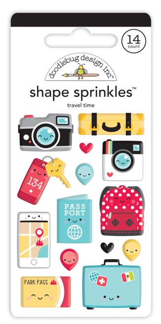 Doodlebug Fun at the Park Shape Sprinkles: Travel Time
