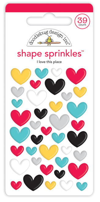 Doodlebug Fun at the Park Shape Sprinkles: I Love This Place