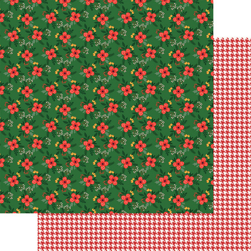 Fancy Pants Cozy Christmas 12x12 Paper: Under The Mistletoe