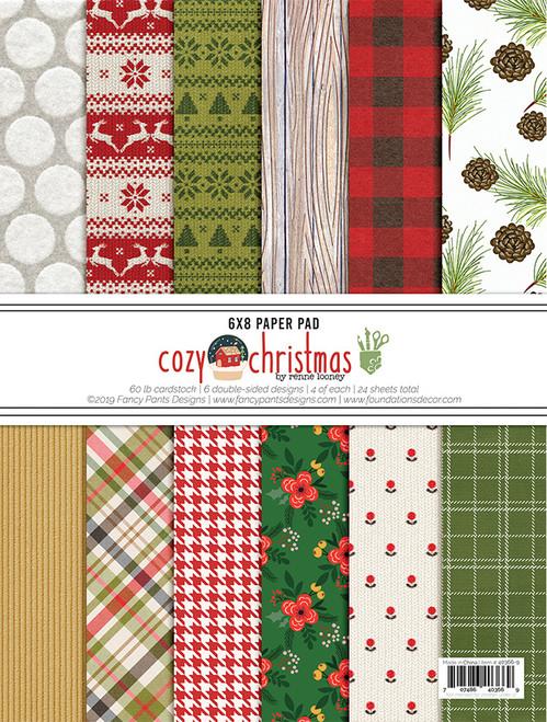 Fancy Pants Cozy Christmas 6x8 Pad