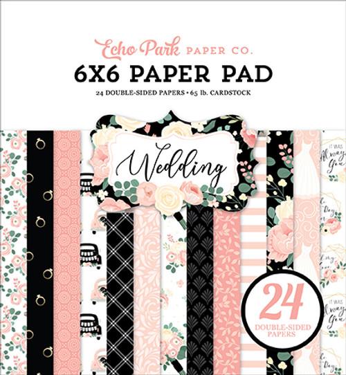 Echo Park Wedding 6x6 Paper Pad