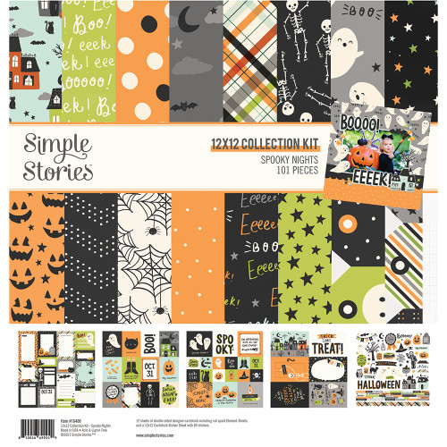 Simple Stories Spooky Nights Collection Kit