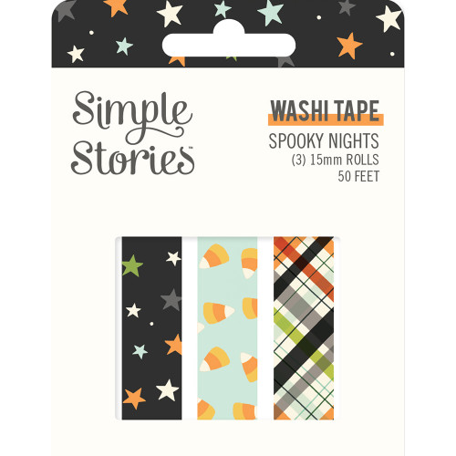 Simple Stories Spooky Nights Washi Tape