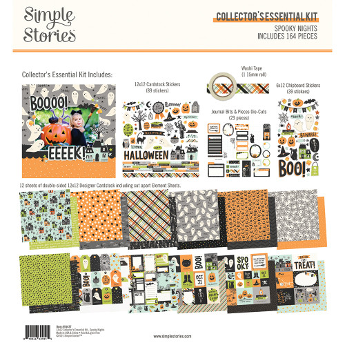 Simple Stories Spooky Nights Collector's Essential Kit