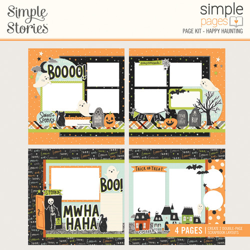 """Simple Stories """"Simple Cards"""" Page Kit: Happy Haunting"""