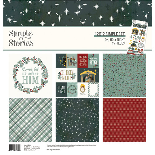 Simple Stories Oh, Holy Night Collection Kit