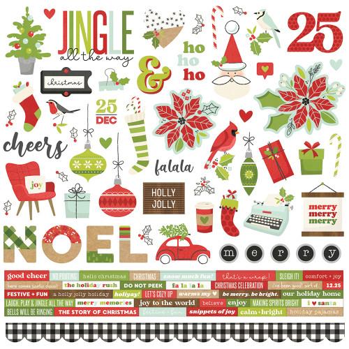 Simple Stories Make It Merry Cardstock Sticker
