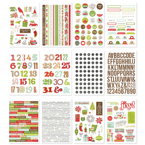 Simple Stories Make It Merry Sticker Book