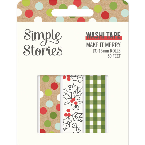 Simple Stories Make It Merry Washi Tape