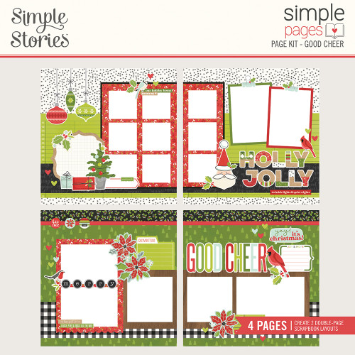 """Simple Stories """"Simple Pages"""" Page Kit: Good Cheer"""