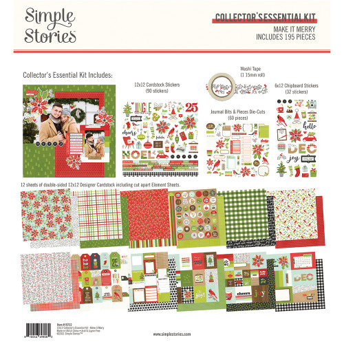 Simple Stories Make It Merry Collector's Essential Kit
