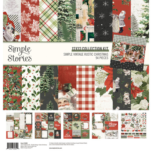Simple Stories Simple Vintage Rustic Christmas Collection Kit