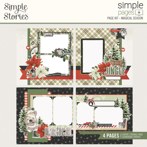 """Simple Stories """"Simple Pages"""" Page Kit: Magical Season"""