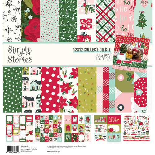 Simple Stories Holly Days Collection Kit