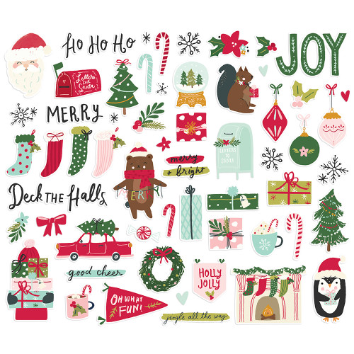 Simple Stories Holly Days Bits & Pieces